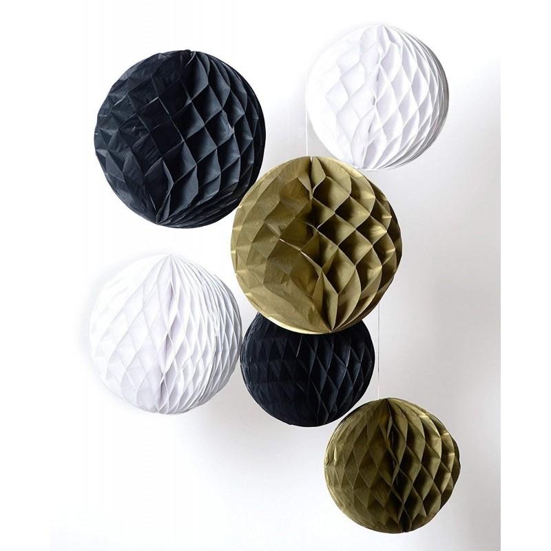 papirnata krogla, črna, 40cm
