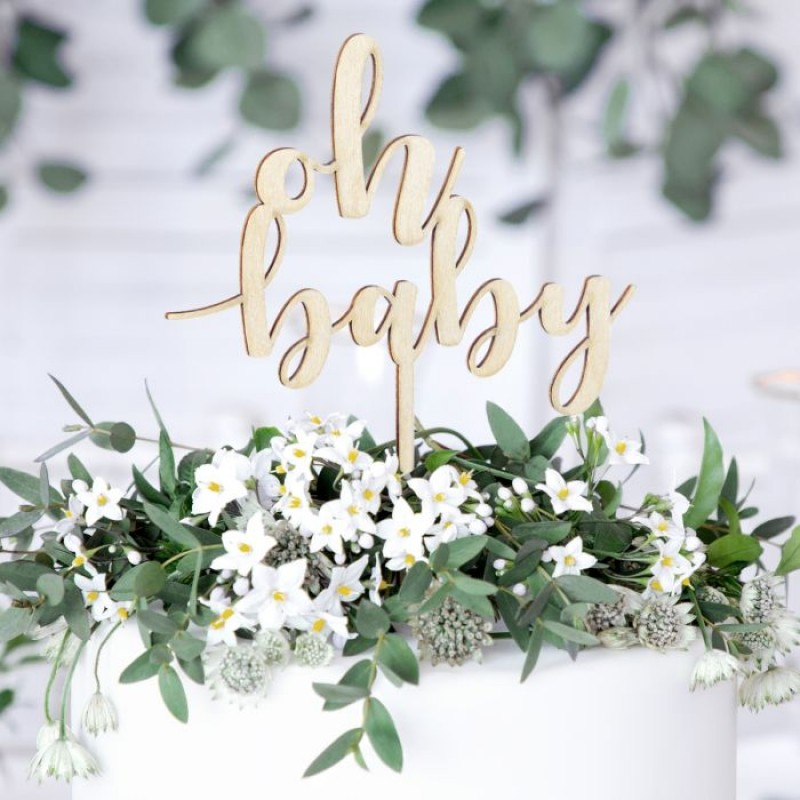 Cake Topper, OH BABY