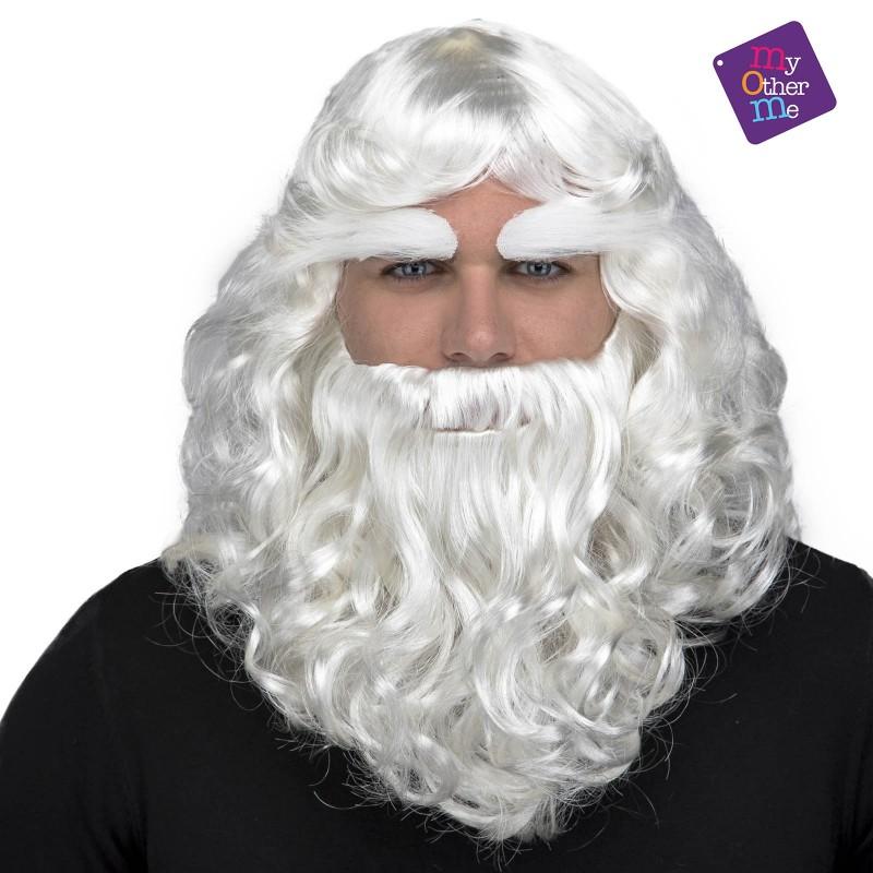 Božičkova lasulja in brada