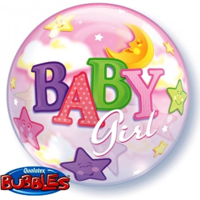 Baby girl LUNA&ZVEZDE balon