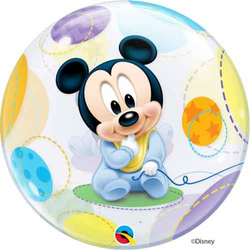 Bubble Mickey Mouse balon
