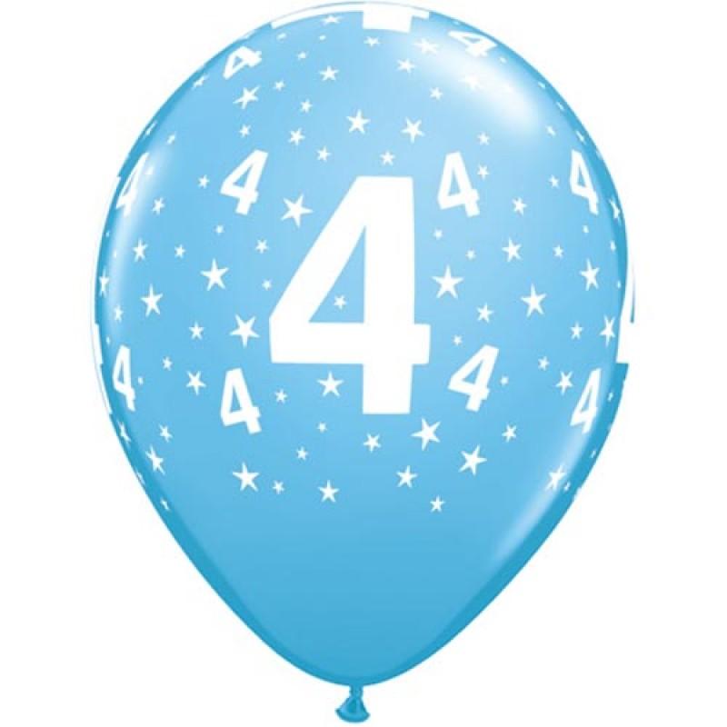 28cm Modri baloni 4. RD
