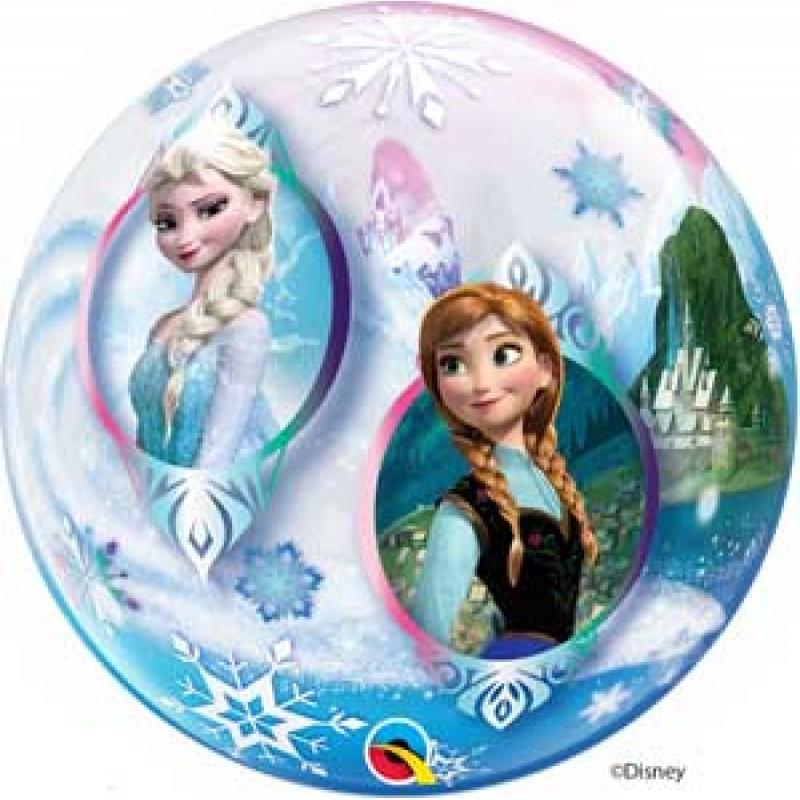 Bubble Elsa balon