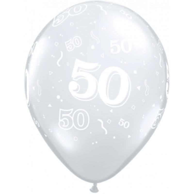 50 Diamantni balon