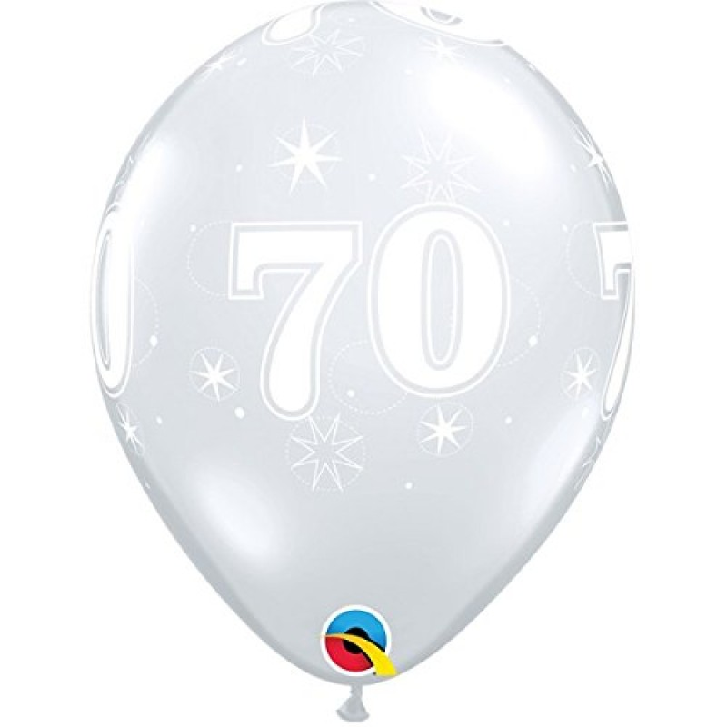 Diamantno jasno bleščeči balon-70