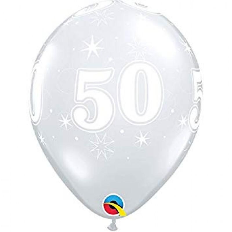 50 BleščečoDiamantnibalon