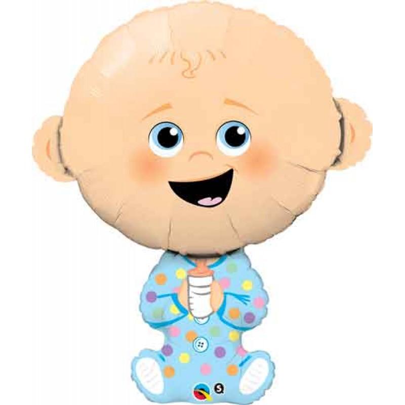 Baby boy moder balon