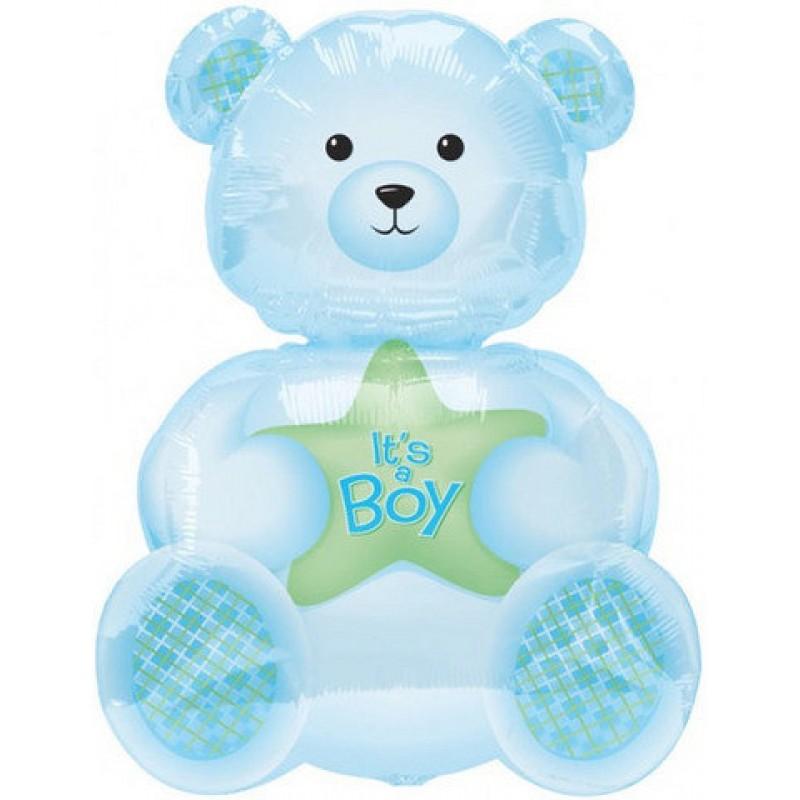 Medvedek BOY - SuperShape balon
