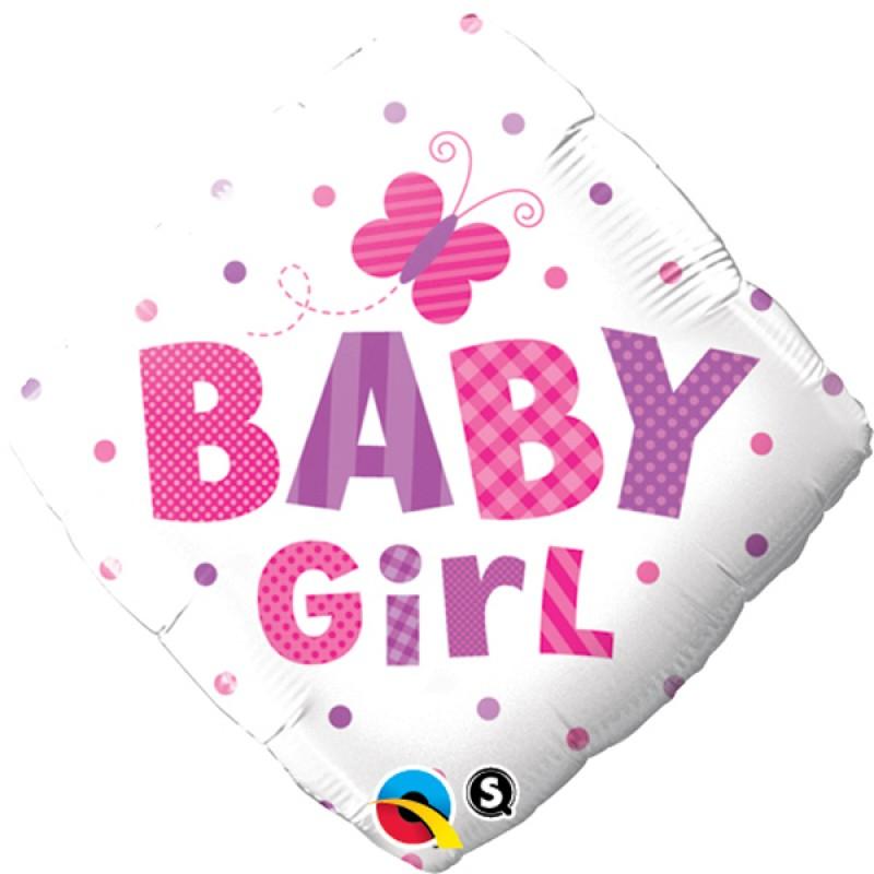 Baby girl PIKE&METULJI balon