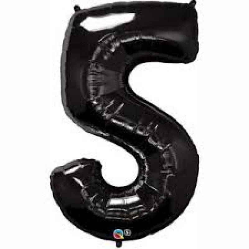 Črn balon št. 5