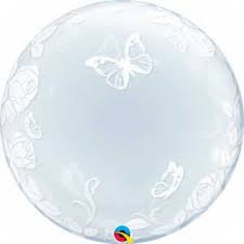 Bubble ELEGANT rože in metuljčki