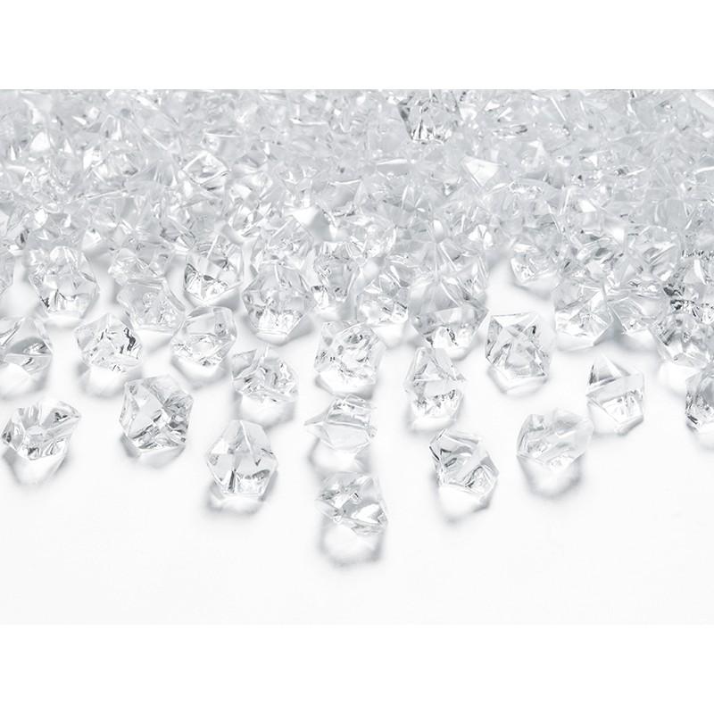 Kristalčki, prozorni, 14 x 11mm