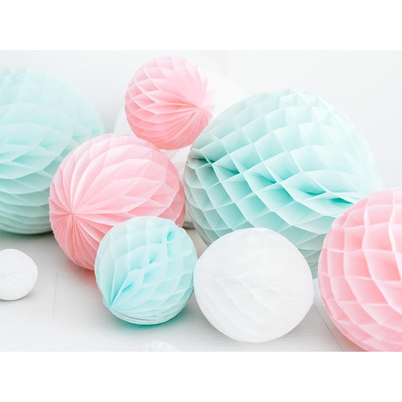 Honeycomb Ball, svetlo roza, 30cm