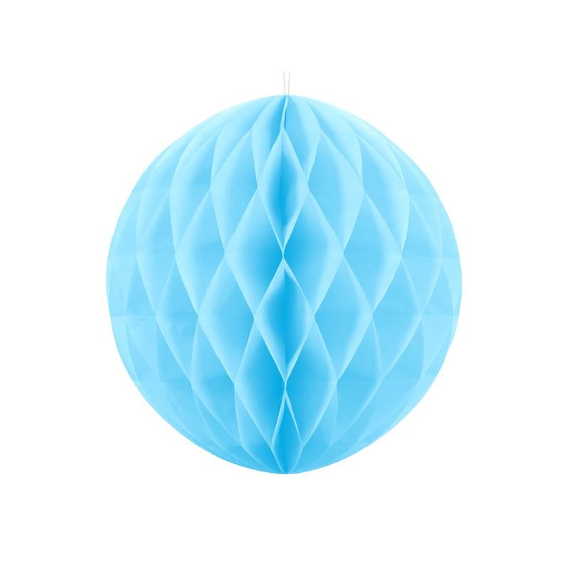 Honeycomb Ball, nebesno modra, 30cm