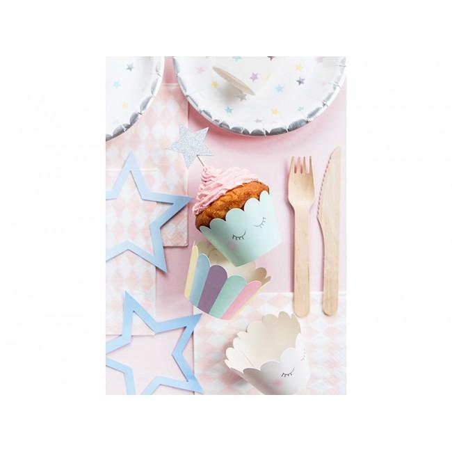 Cupcake posodice Unicorn 5x7,5x5cm