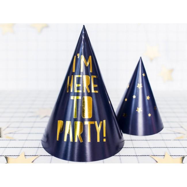 "Papirnati klobuki ""Let's Celebrate"", mix, 15.5cm"
