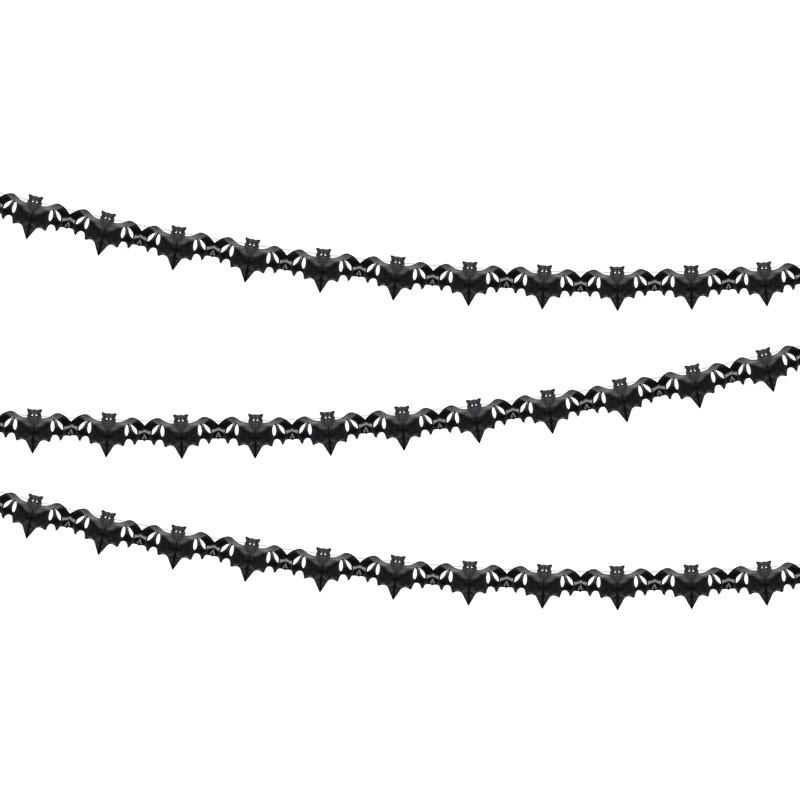 Viseča dekoracija netopirji, 4m