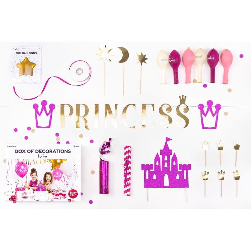 Komplet za dekoracijo princeska