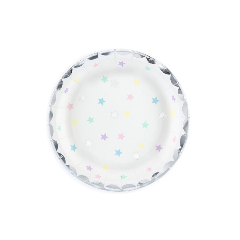 Krožniki Samorog-zvezdice, 18 cm