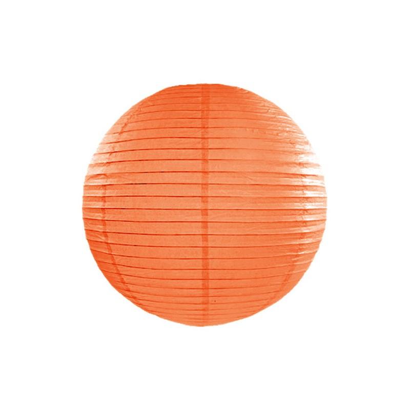 Paper lantern, orange, 35cm