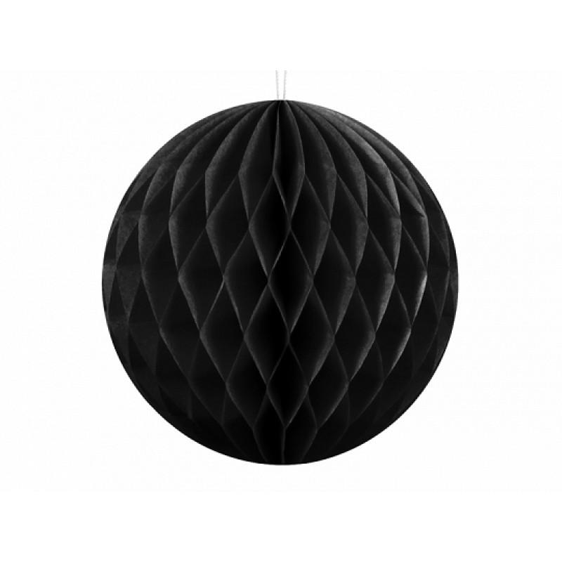 Honeycomb črn, black, 10cm