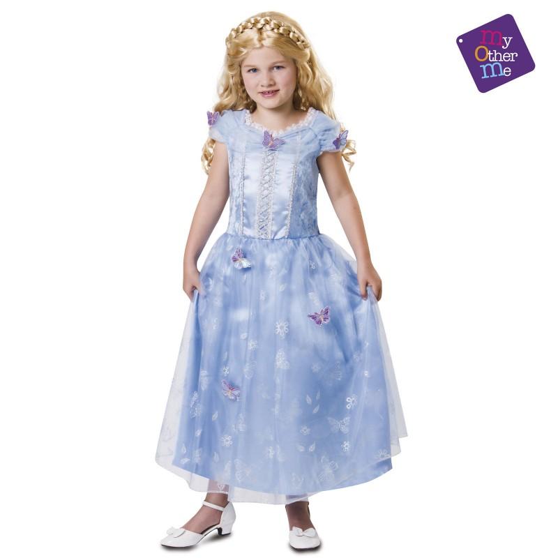 Princeska z metuljčki 7-9 let