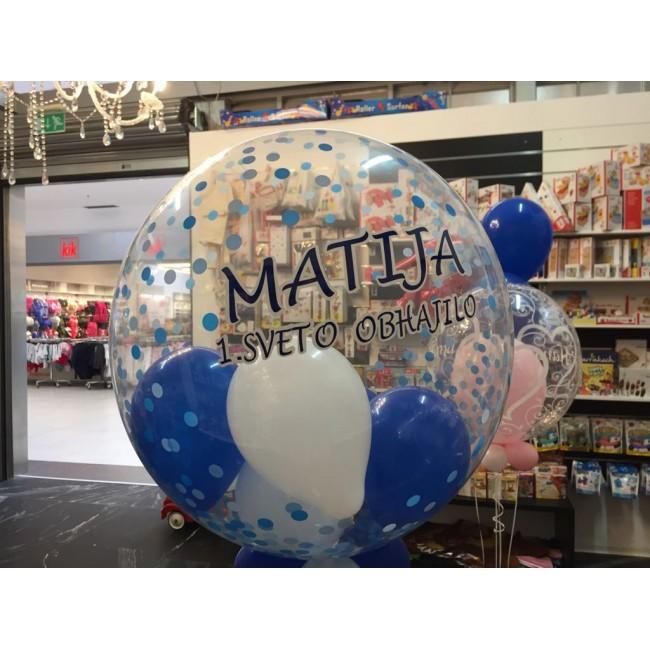 Personaliziran bubble balon