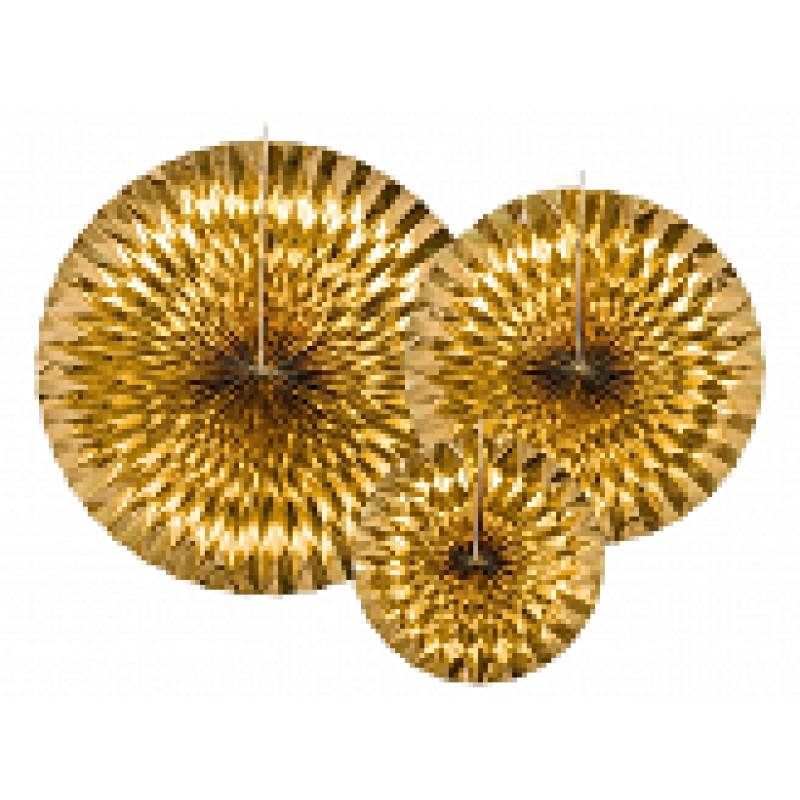 Dekorativna Roseta, zlata
