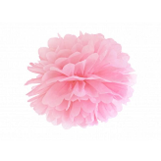 papirnat Pom pom, roza, 25cm