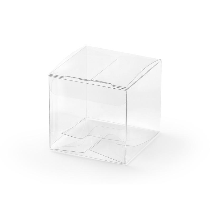 Prozorne škatlice, 5x5x5cm