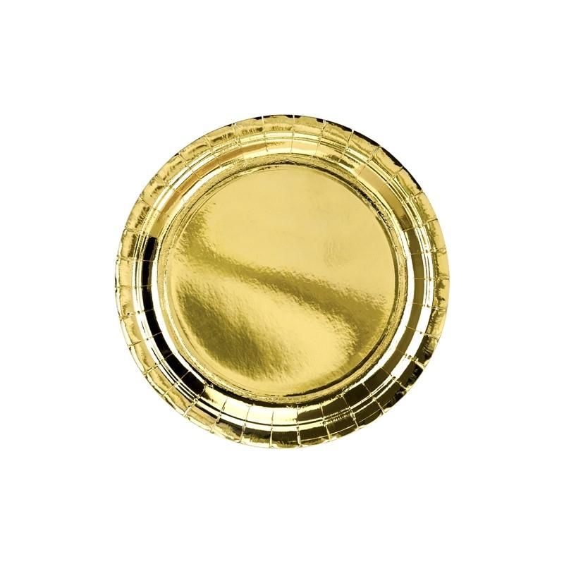 Krožniki zlati, 23cm