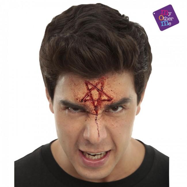 Lateks brazgotina - pentagram