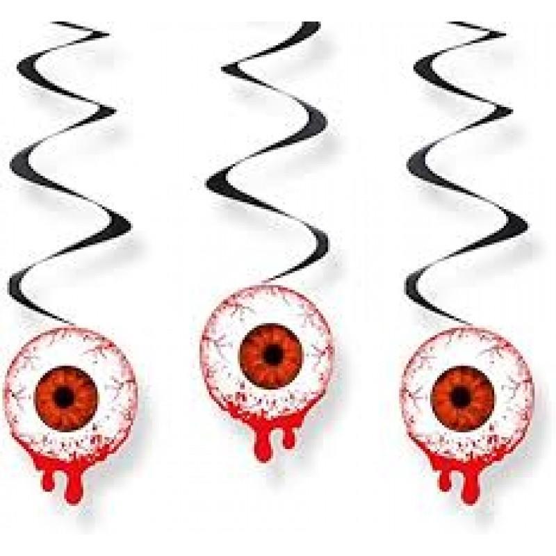 Krvave oči, Viseča dekoracija
