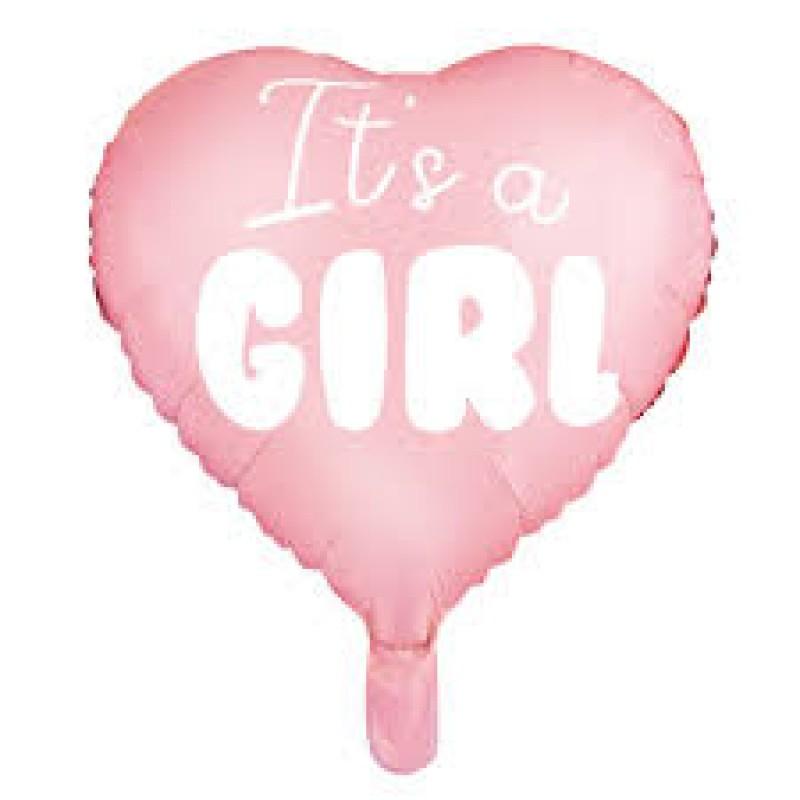 Folija balon srce its a girl