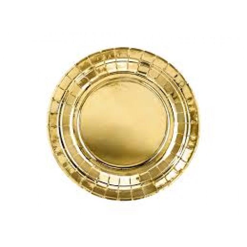 krožniki zlati