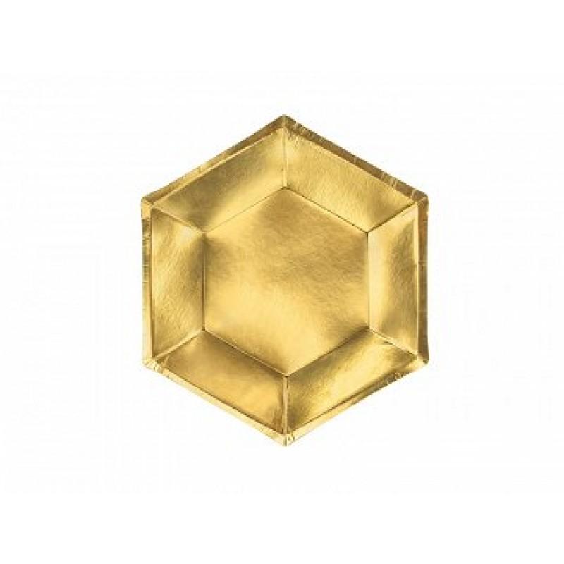 Krožniki zlati 6
