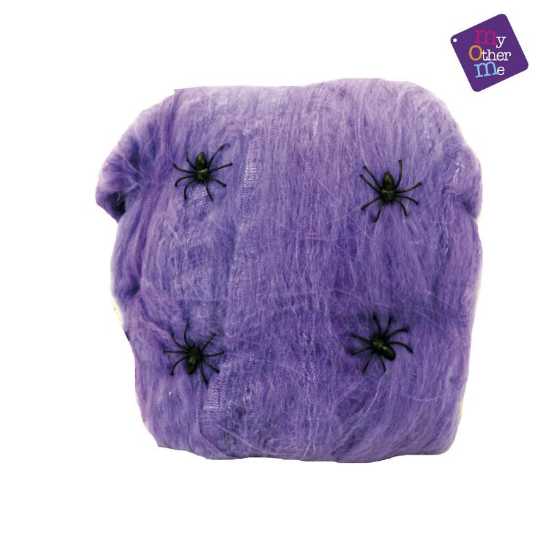 Pajkova mreža, vijolična 60g