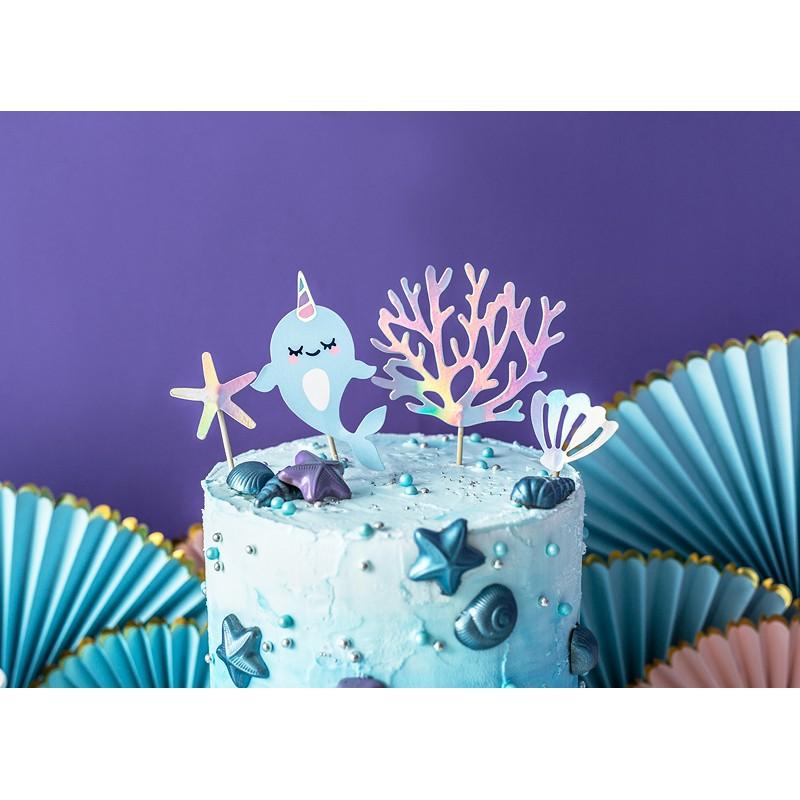 CAKE TOPPERS - pod vodo 10X15,5CM
