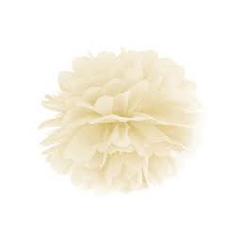 Blotting paper Pompom, cream, 35cm