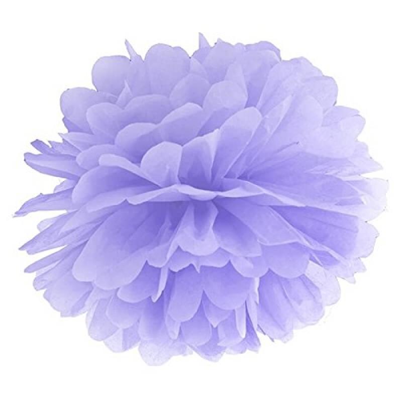 Blotting paper Pompom, light lilac, 35cm