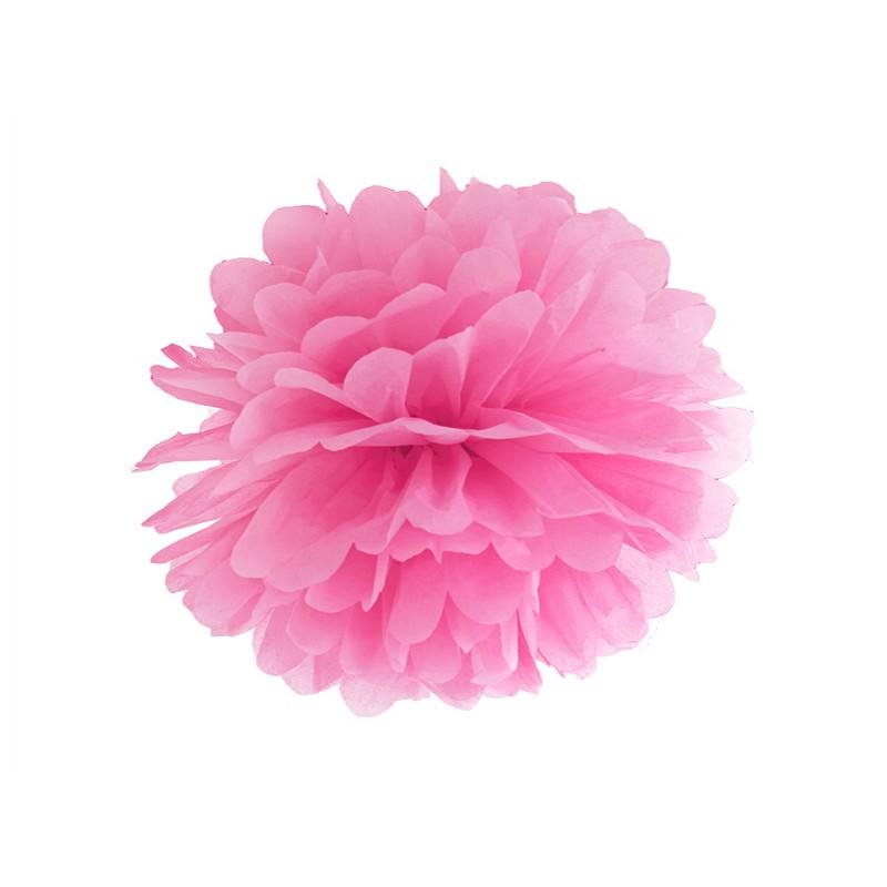 Blotting paper Pompom, pink, 35cm
