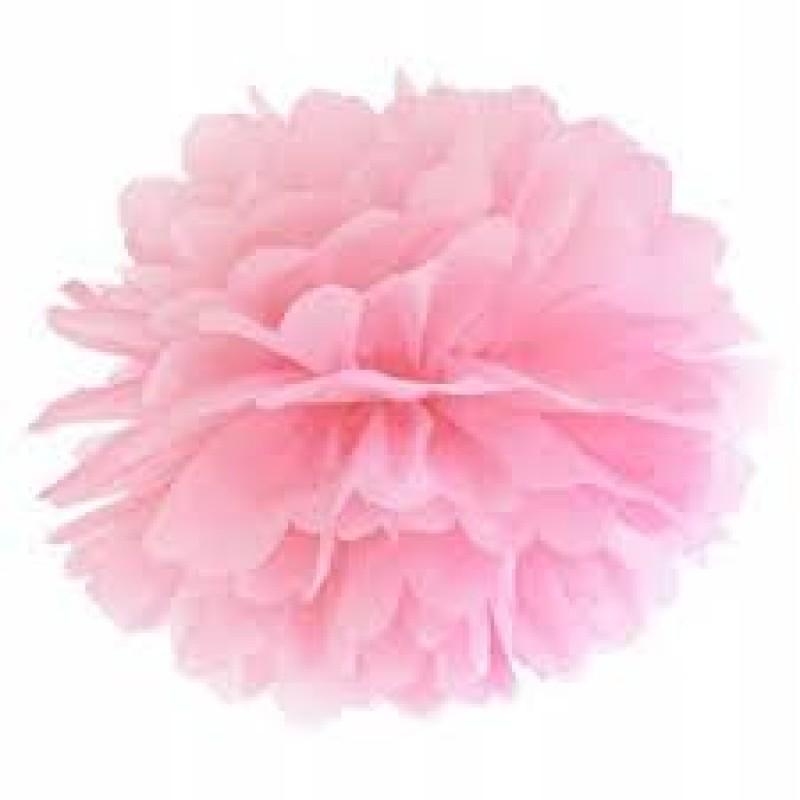 Blotting paper Pompom, light pink, 35cm